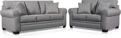 camila sofa and loveseat set value