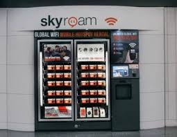 Vending Machine Rental Near Me Beauteous Global WiFi Now Available In A Vending Machine At An Airport Near