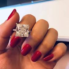 OneRain <b>100</b>% <b>925 Sterling Silver</b> Square Moissanite Diamonds ...