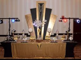 Created this Great Gatsby Decor and dessert table for Nong Cardo's 80th  birthday.