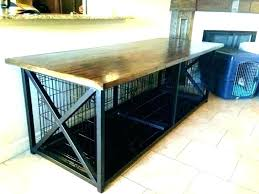 dog crate table build a dog crate dog crate table dog crate end table furniture lovely