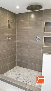 Creativity Modern Bathroom Shower Ideas Skokie Gut Remodel D And Beautiful