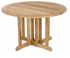 barbuda eg round table transitional outdoor dining tables by westminster teak