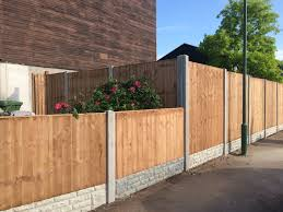 special offer 10 bays supplied fitted 795 00 includes heavy duty fence panels gravel boards concrete posts