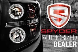 Spyder® ALT-ON-CS03-LED-BSM - Black/Smoke LED Tail Lights