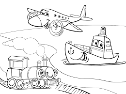 Small Picture Transportation Coloring Pages coloringsuitecom