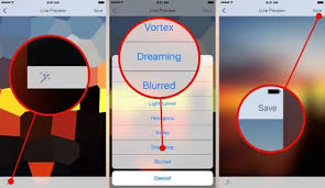 ios tip create your own live wallpaper