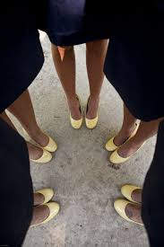 Light Yellow Wedding Shoes Bridesmaid Shoes Colors Were Navy Blue Light Yellow