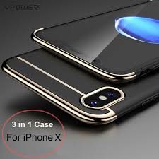 apple x cases. for iphone x case vpower 3 in 1 ultra slim apple luxury cases