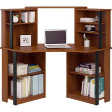 l shaped desk home office. Corner Computer Desk With Hutch Home Office Student Workstation Cherry Wood L Shaped