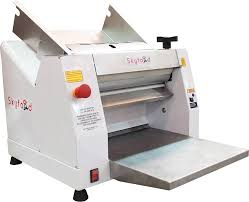 skyfood clm 400 electric countertop dough roller sheeter 16 roller