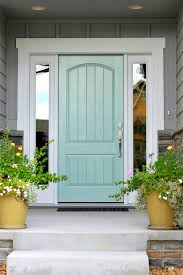 blue front doorTurquoise and Blue Front Doors  with Paint Colors