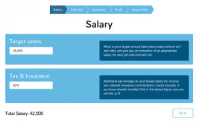 Salary Expenses Calculator Hourly Rate Calculator