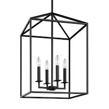seagull pendant lighting. Sea Gull Lighting Perryton 15.5-in Blacksmith Rustic Single Cage Pendant Seagull U