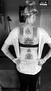 Sak Yants On My Back Sak Yant татуировки тату мехенди