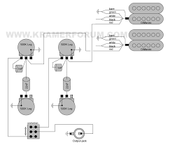the kramer forum special features com 1980 dmz1000 dimarzio dual sound humbuckers 3 way 2 vol 2 tone