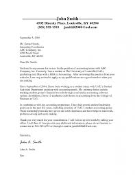 Internship Cover Letter Sample For College Students Dean For
