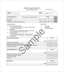 Report Card Template Pdf High School Progress Report Template Free Report Card Template