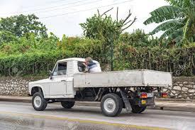 Santa Clara, Cuba Transportation Unsafe Practices: Man Travelling ...