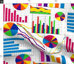 Graph Chart For Science Project Fabric By The Yard Science Fair Essential Charts And Graphs