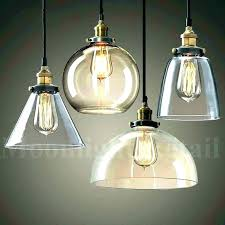 clear glass pendant shade replacement replacement light shades replacement glass light shades replacement