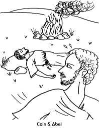 Coloring Sheet Cain And Abel: Free kain and abel coloring pages.