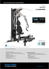 Inspire M2 Exercise Chart Ins M2 Multi Gym Inspire M2 Salter Pdf Catalogs