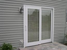 Pella Sliding Patio Door With Blinds Between Glass Sliding Doors