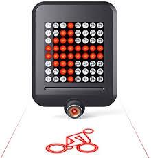 MAGO Bicycle Light Mountain Bike <b>Intelligent Steering Brake</b> Tail ...