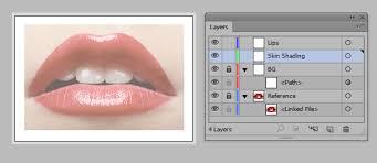 luscious lips in ilrator cs6