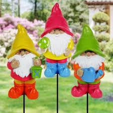 exhart 3 piece assorted neon gnome 1 41