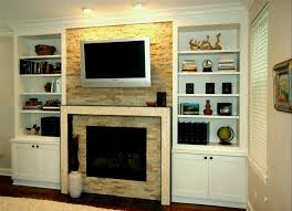 marvellous custom built ins ikea around fireplace white wooden in cabinets next tv round designs cabinet