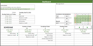 Task Manager Excel Template
