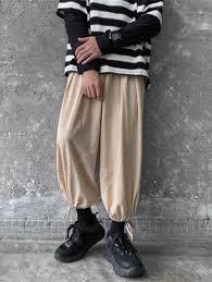 Men Pants Simple Pantyhose Cotton Material Tide Loose <b>Large</b> ...