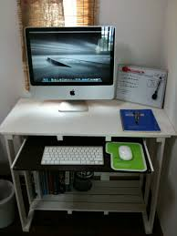 diy home office desk plans. Small DIY Office Desk Design Idea In White Color For Lush Computer Table Diy Home Plans