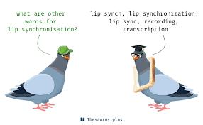 5 lip synchronisation synonyms similar