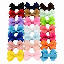 <b>20pcs</b>/<b>lot</b> 2.16 Inch <b>Kids Small Bows</b> Hair Clip Girls PinWheel <b>Bows</b> ...