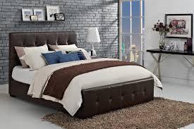 Full Upholstered Bed Frame Dhp Furniture Florence Upholstered Bed