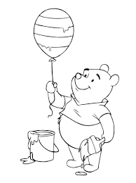 Winnie The Pooh Coloring Pages (6) - Coloring Kids