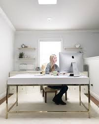 organized home office. Simply Organized Home Office With Desk C