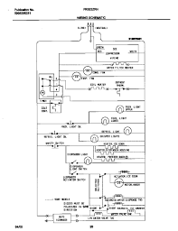 Fantastic wiring diagram for frigidaire refrigerator pictures striking