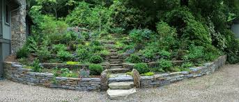 faerie garden. Stone Terraces Lead Up To The Faerie Garden In Fairview, North Carolina.