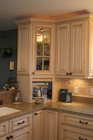 Cabinet For Kitchen Appliances I Hate Counter Clutter Told Hubby In The New Kitchen He Was Going
