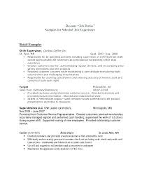 Cashier Job Description For Resume New Sample Resume For Cashier Job Description Retail In Example