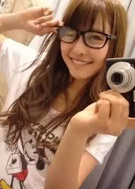 Teen girl glasses fetish