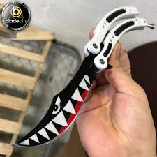 sharp balisong. spitfire sharp balisong (sold separately or together) g