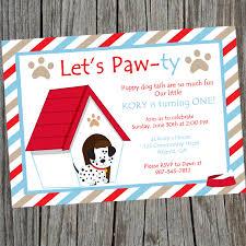 Dog Birthday Decorations Puppy Dog Birthday Party Invitation Printable Puppy Themed Party