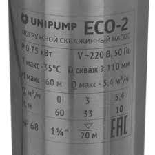 Характеристики Погружной <b>насос Unipump</b> ECO-2: подробное ...