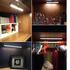 lighting for closet. ELE_234 Portable 10 LED Wireless Motion Sensing Light Bar With Magnetic Strip Sensor Closet Cabinet Lighting For T