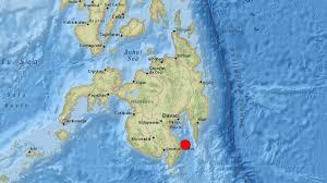 Recent earthquakes near mindanao, philippines. 6 3 Magnitude Earthquake Strikes Near Mindanao Philippines Usgs Cna